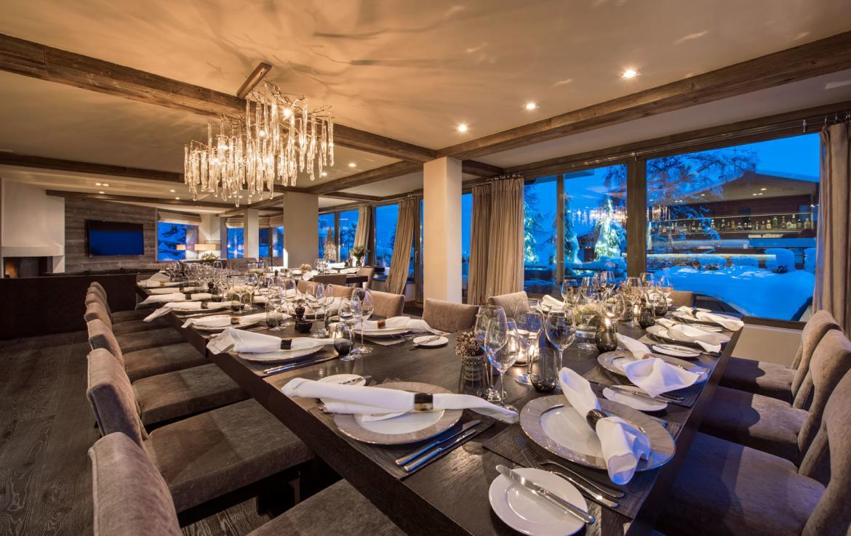 Dining-room-chalet verbier