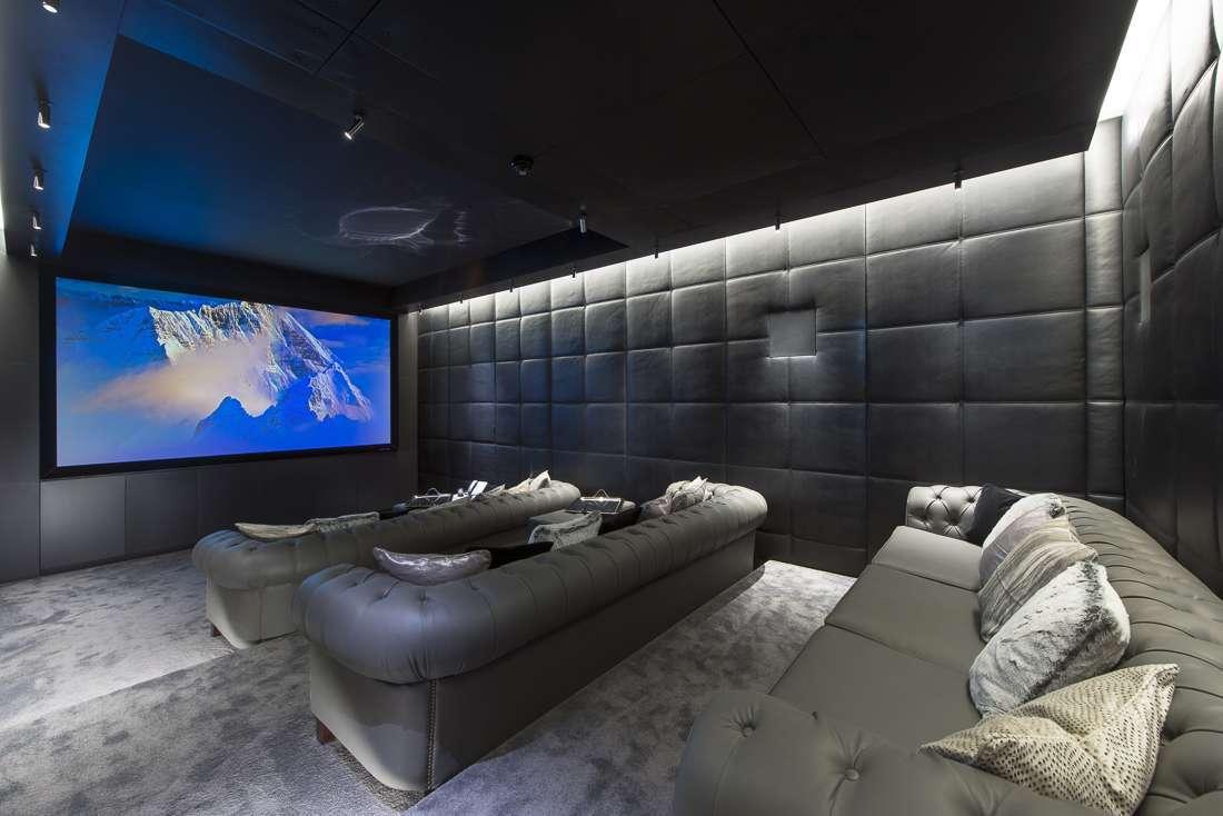 bioscoop in chalet lech ski-in ski-out
