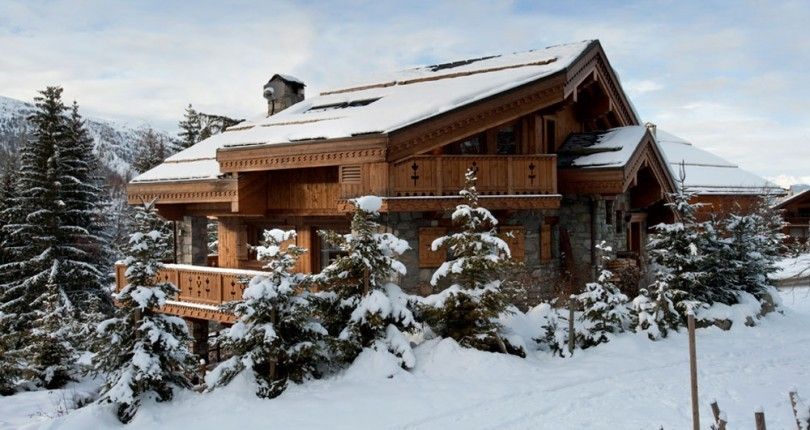 ski-in/out chalet huren in meribel