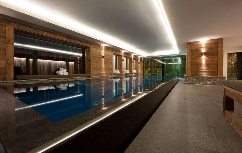 chalet met zwembad te huur in verbier