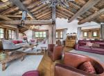 woonkamer chalet val disere