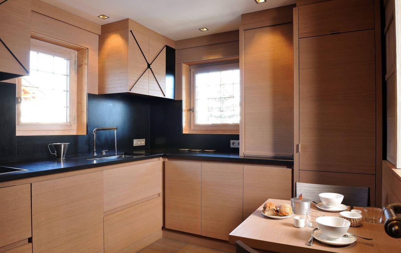 kitchen rosalpina courchevel