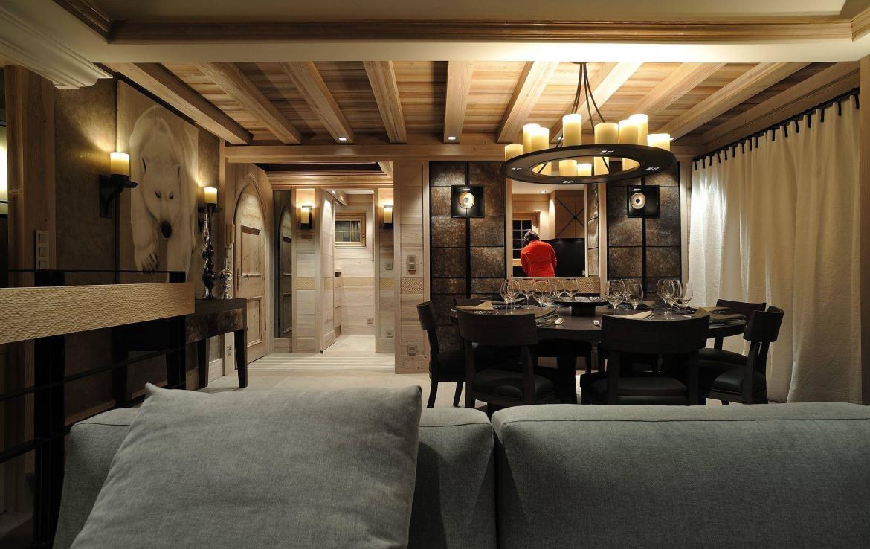 open kitchen chalet rosalpina courchevel