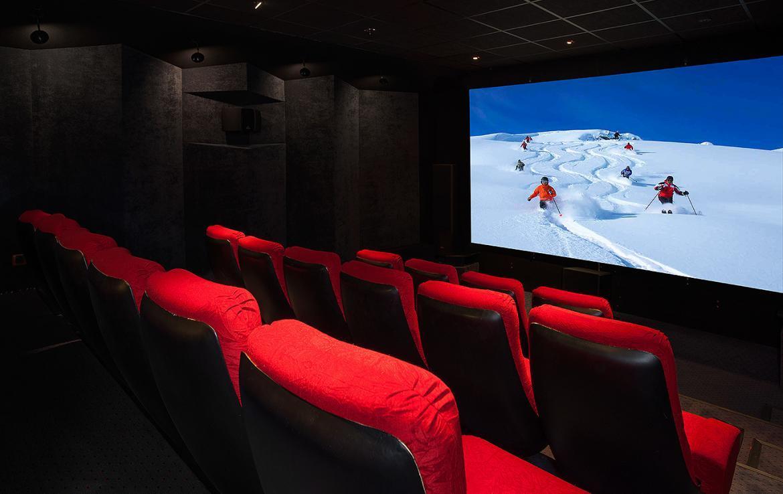 cinema chalet meribel