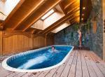 swim spa chalet meribel