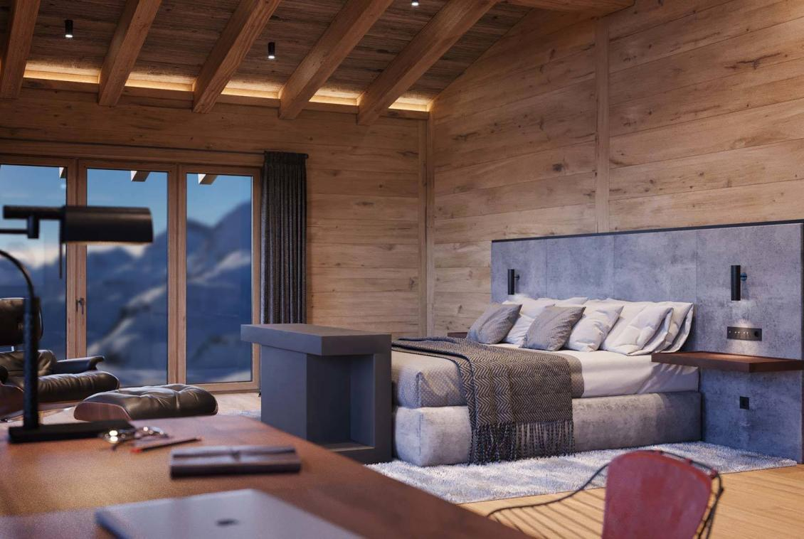 Luxus chalet in lech