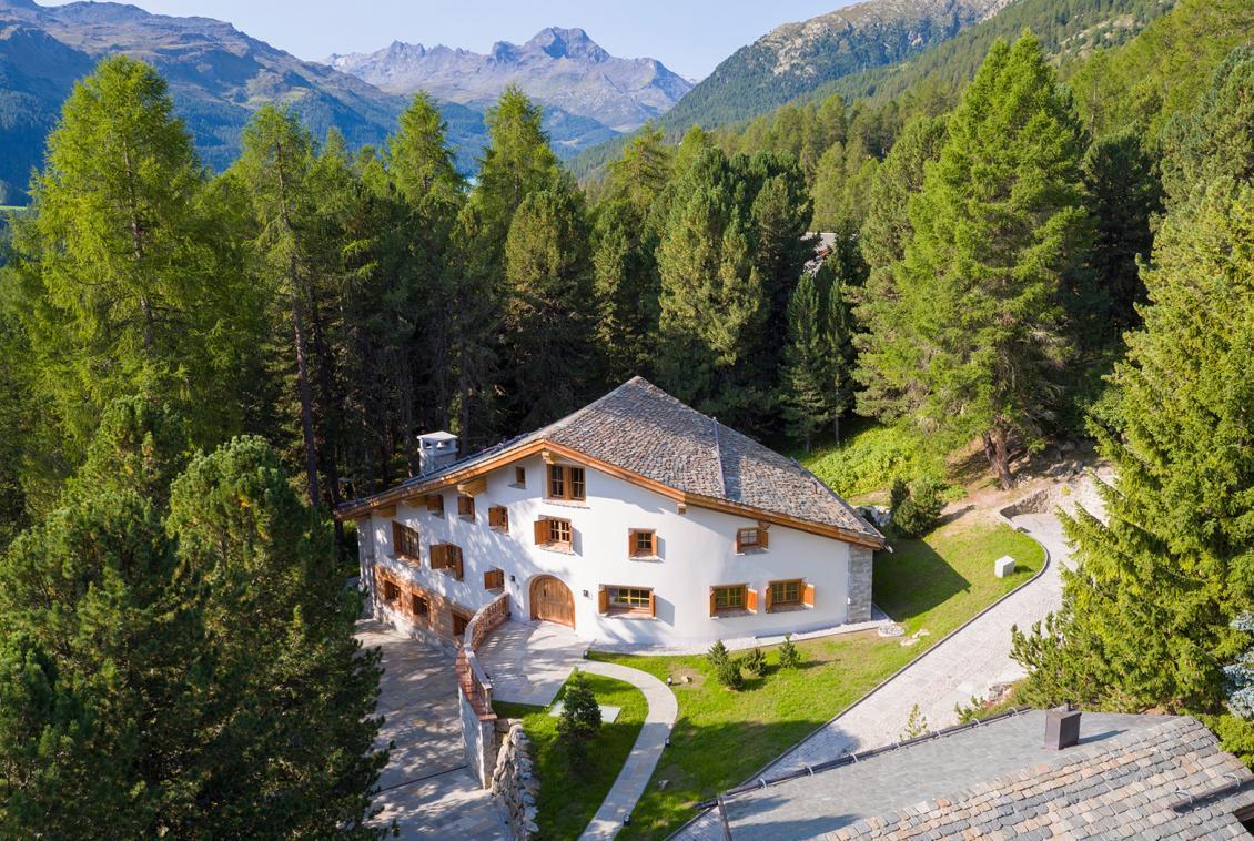 Luxury CHalet Sankt Moritz